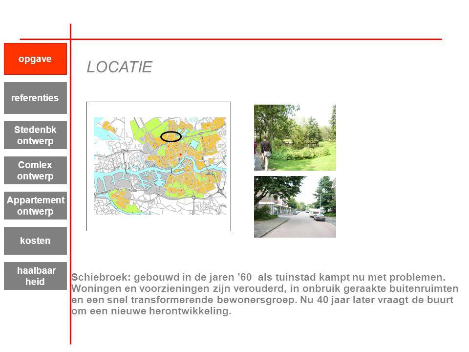 Schiebroek: gebouwd in de jaren '60 als tuinstad kampt nu met problemen. Woningen en voorzieningen zijn verouderd, in onbruik geraakte buitenruimten e