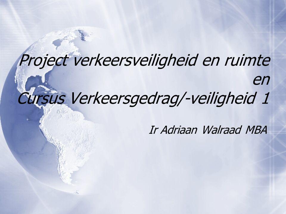 Even voorstellen: Adriaan Walraad  Verschillende rollen  NHTV- Breda  BRU  Walraad Verkeersadvisering BV  Mail: walraad.a@nhtv.nlwalraad.a@nhtv.nl  Verschillende rollen  NHTV- Breda  BRU  Walraad Verkeersadvisering BV  Mail: walraad.a@nhtv.nlwalraad.a@nhtv.nl