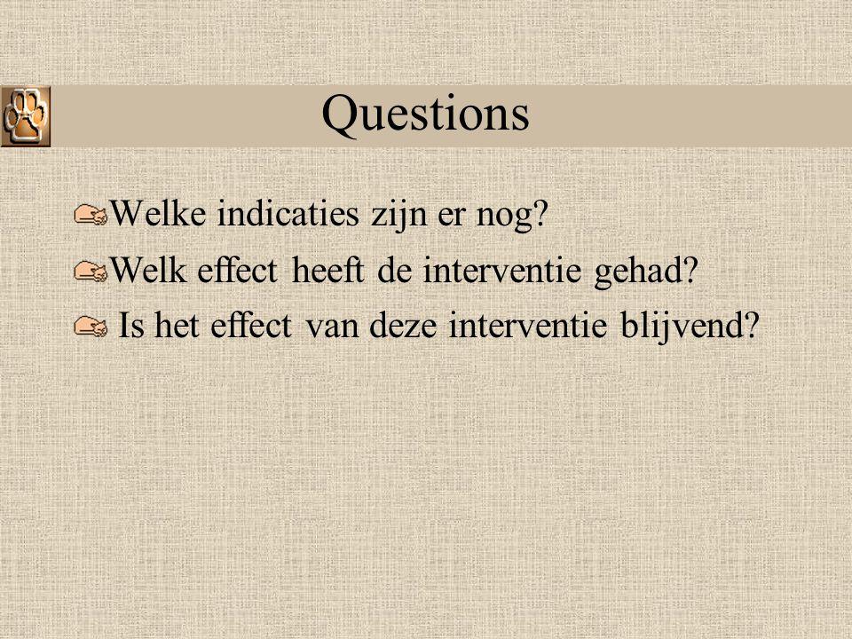 Aanvragen voor de interventie