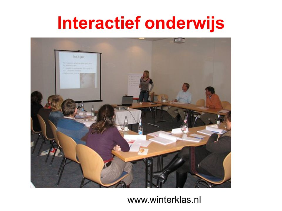 www.winterklas.nl Interactief onderwijs