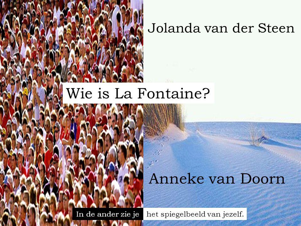Wie is La Fontaine.
