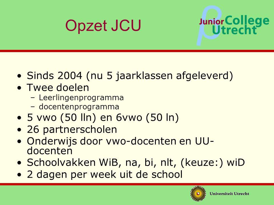 β Wat biedt het JCU.