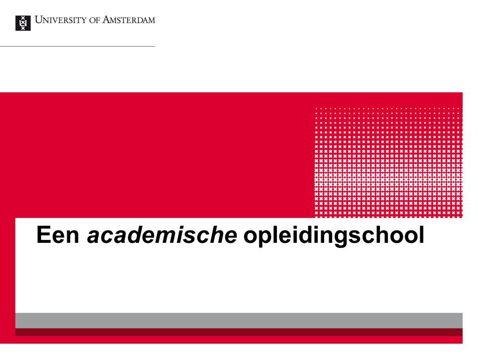Een academische opleidingschool