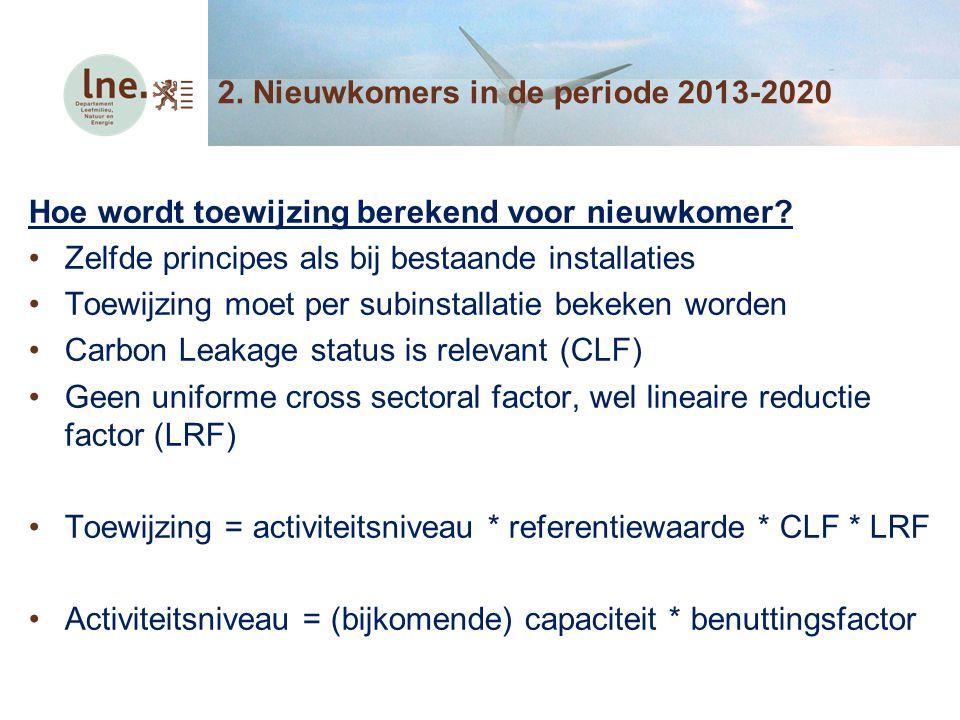 Relevante documenten Algemeen juridisch kader: VER besluit van 20 april 2012 (art.
