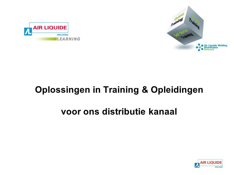Oplossingen in Training & Opleidingen voor ons distributie kanaal
