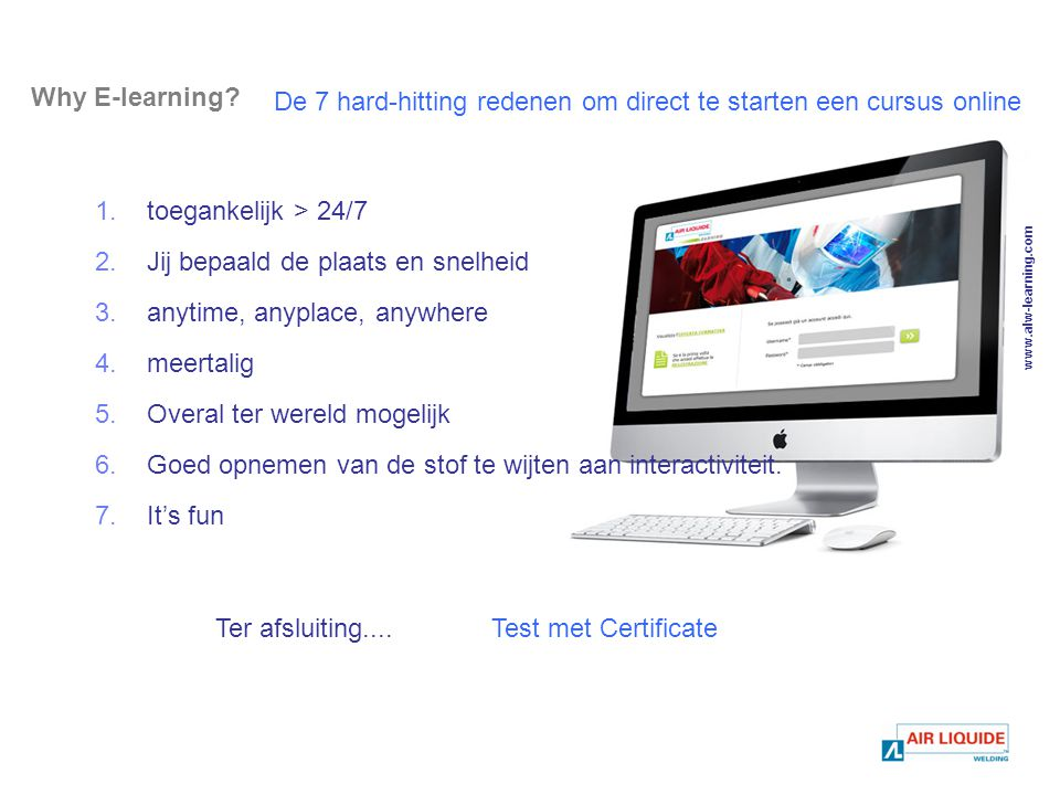 Why E-learning.