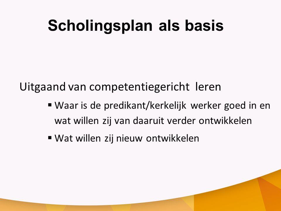 Competenties Zie accreditatiekader  Professionele competenties  Persoonlijke en spirituele competenties  Domeincompetenties