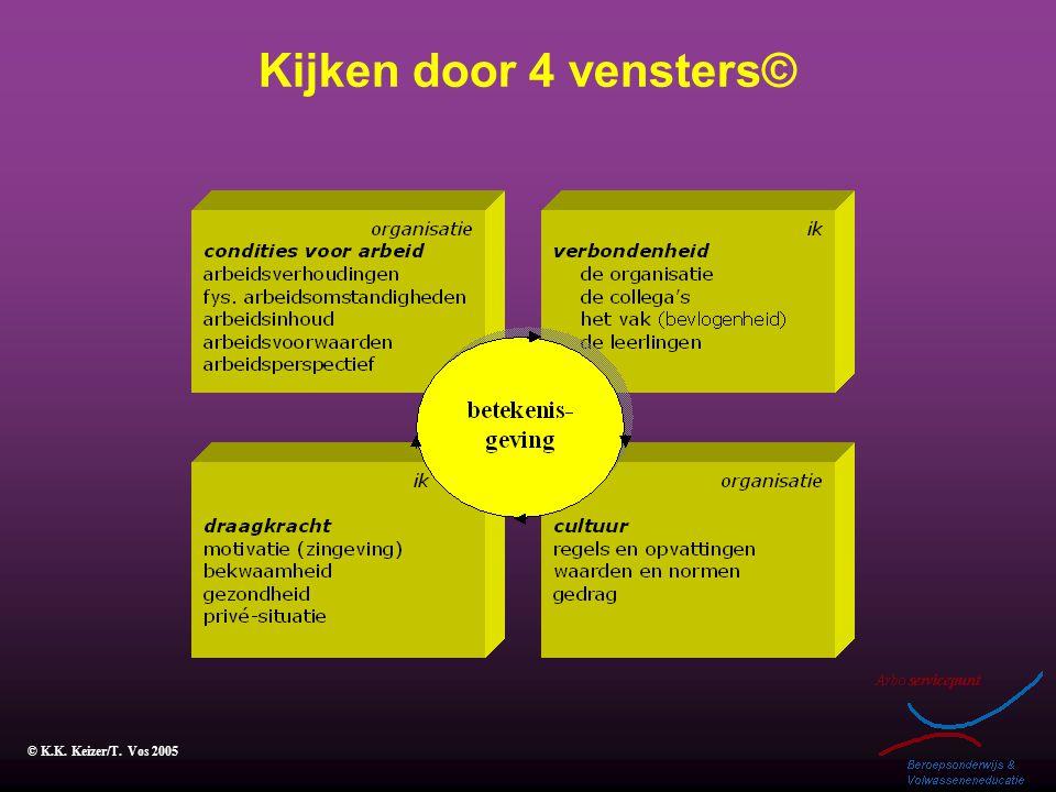 Kijken door 4 vensters© © K.K. Keizer/T. Vos 2005