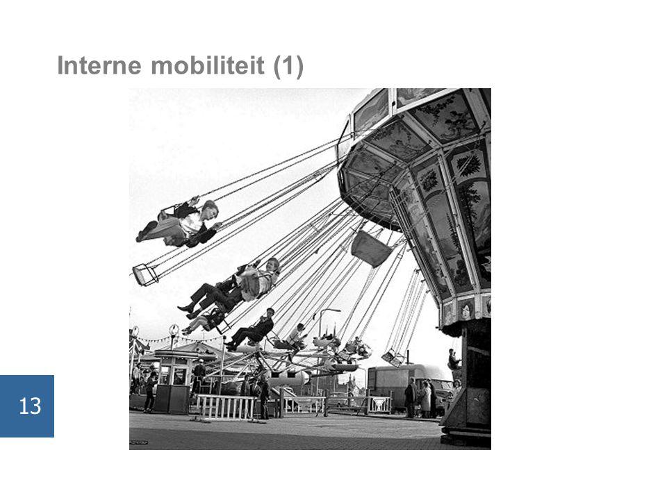 Interne mobiliteit (1) 13