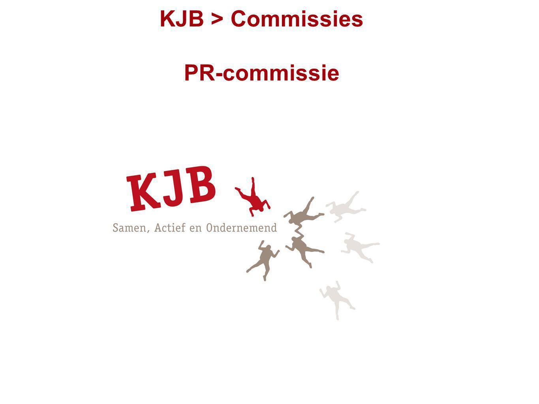 KJB > Commissies PR-commissie