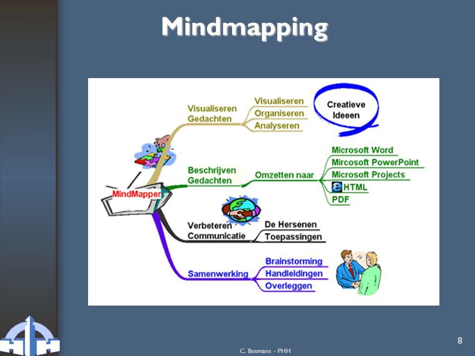 9 Mindmapping nog een voorbeeld