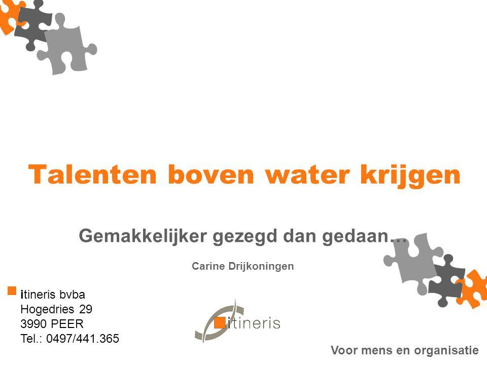 © 2012 Hilda Martens en Carine Drijkoningen Voor mens en organisatie 1.