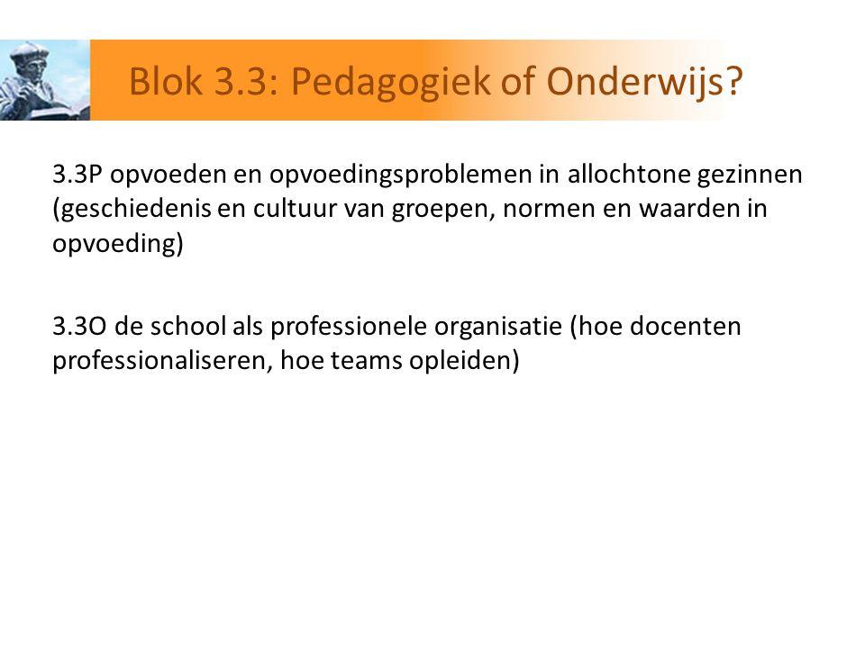 3.4Gezinspedagogiek: opvoedingsvragen bij de normale ontwikkeling (b.v.
