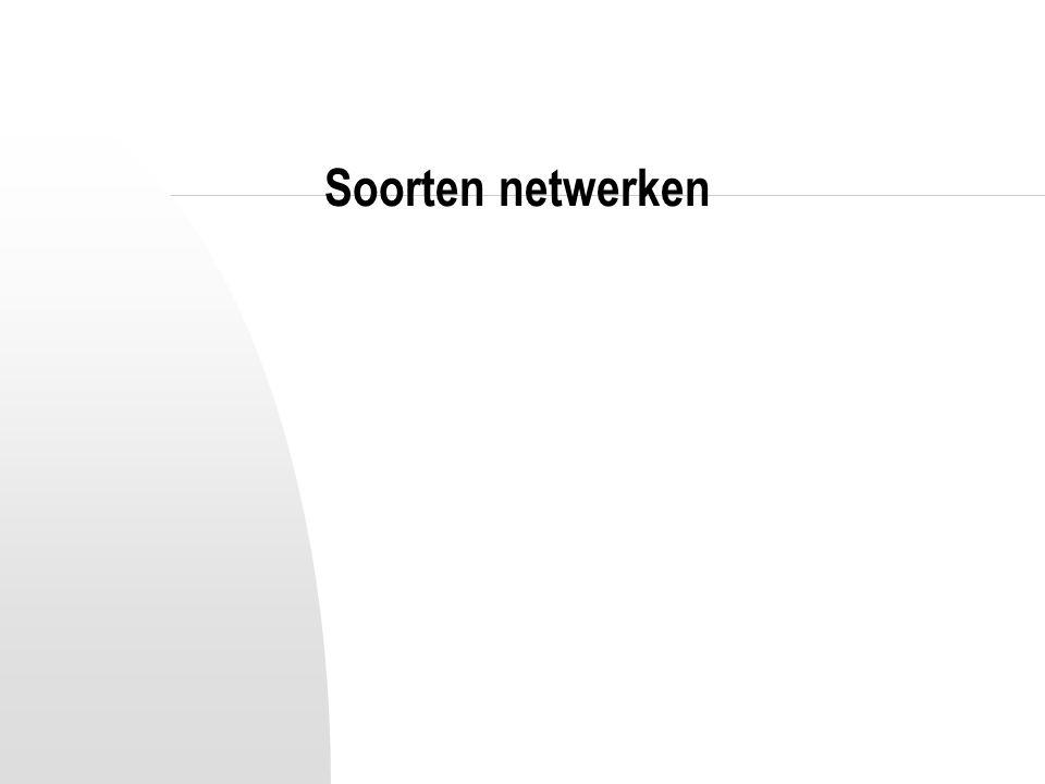 Soorten netwerken