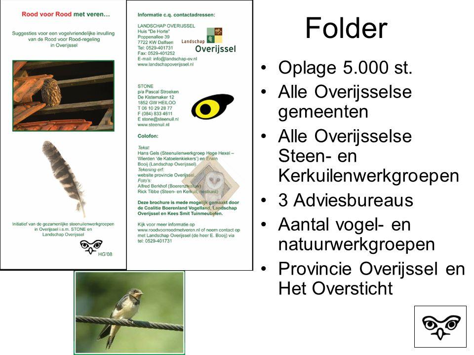 Folder Oplage 5.000 st.