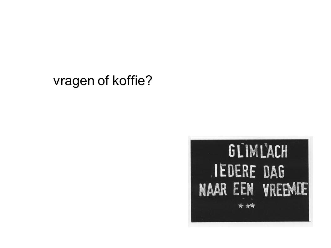 vragen of koffie