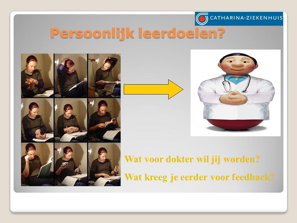 Leerdoelen geriatrie Algemeen: Kennismaking klinische geriatrie Specifieke leerdoelen: ◦De co-ass.