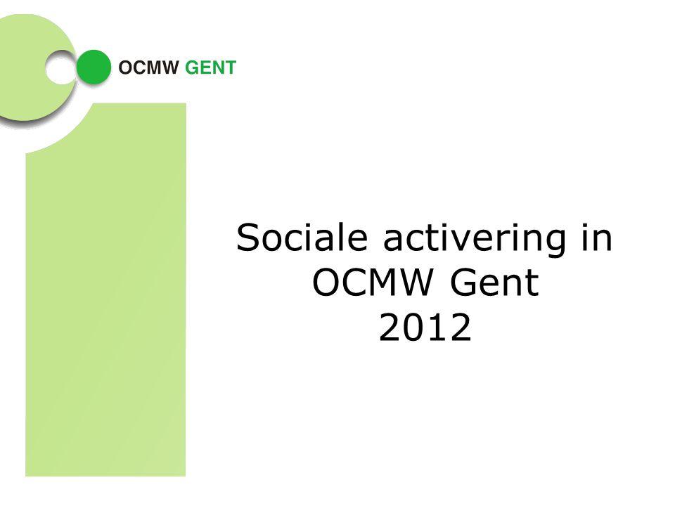 Sociale activering in OCMW Gent 2012
