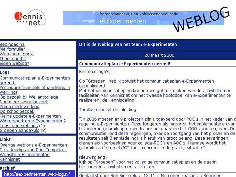 http://eexperimenten.web-log.nl/