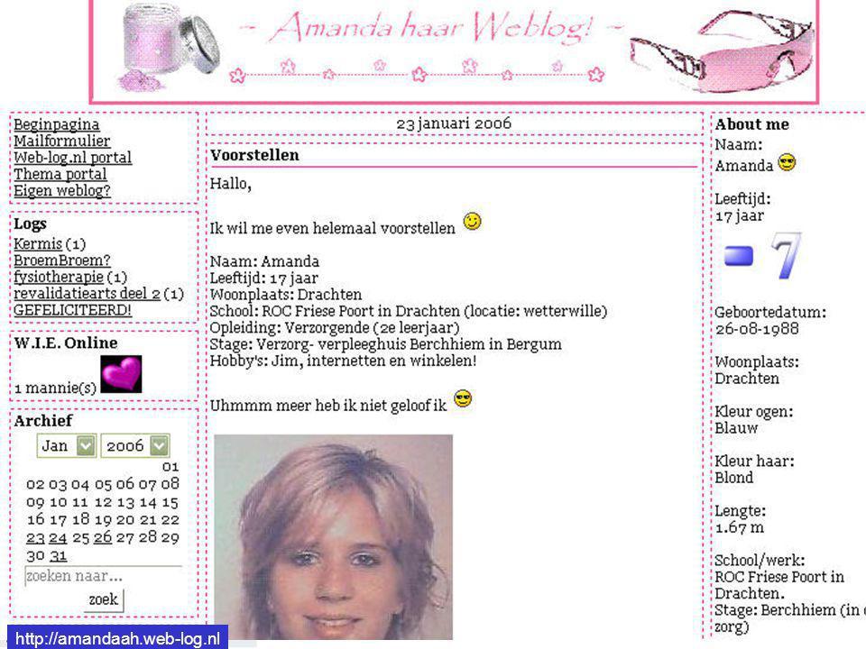 http://amandaah.web-log.nl