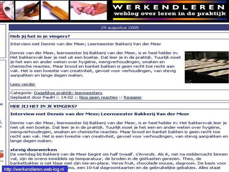 http://werkendleren.web-log.nl