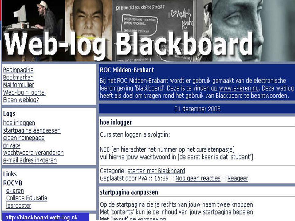 http://blackboard.web-log.nl/