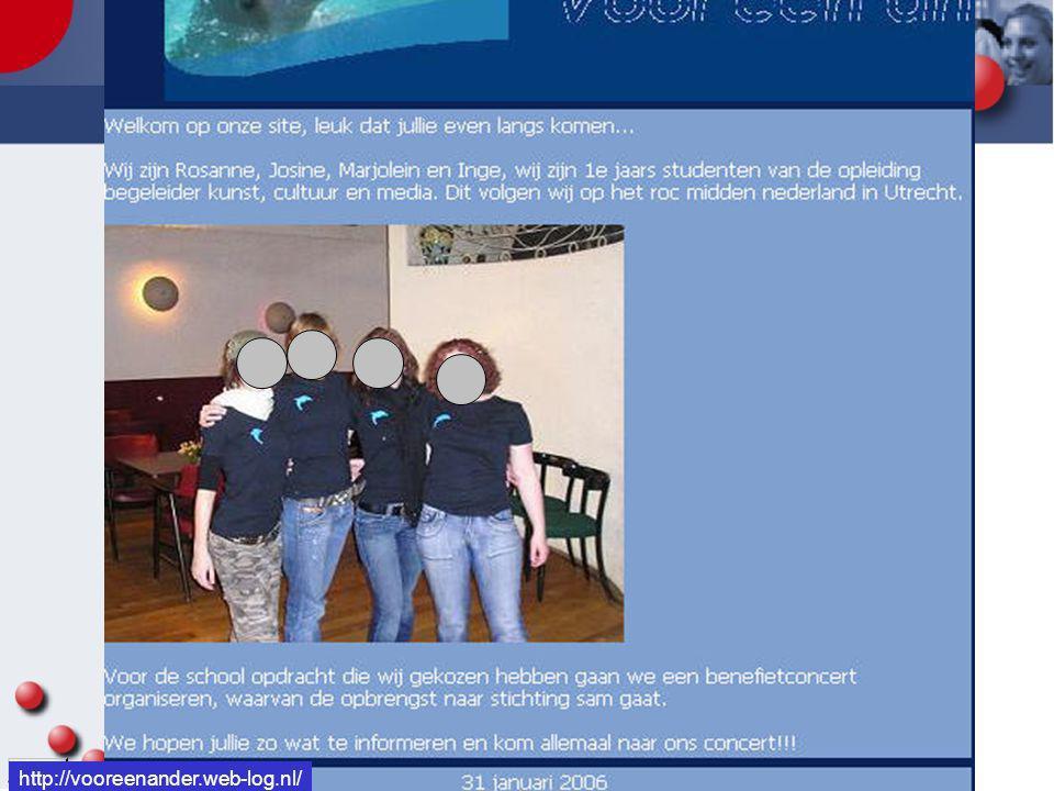 http://vooreenander.web-log.nl/