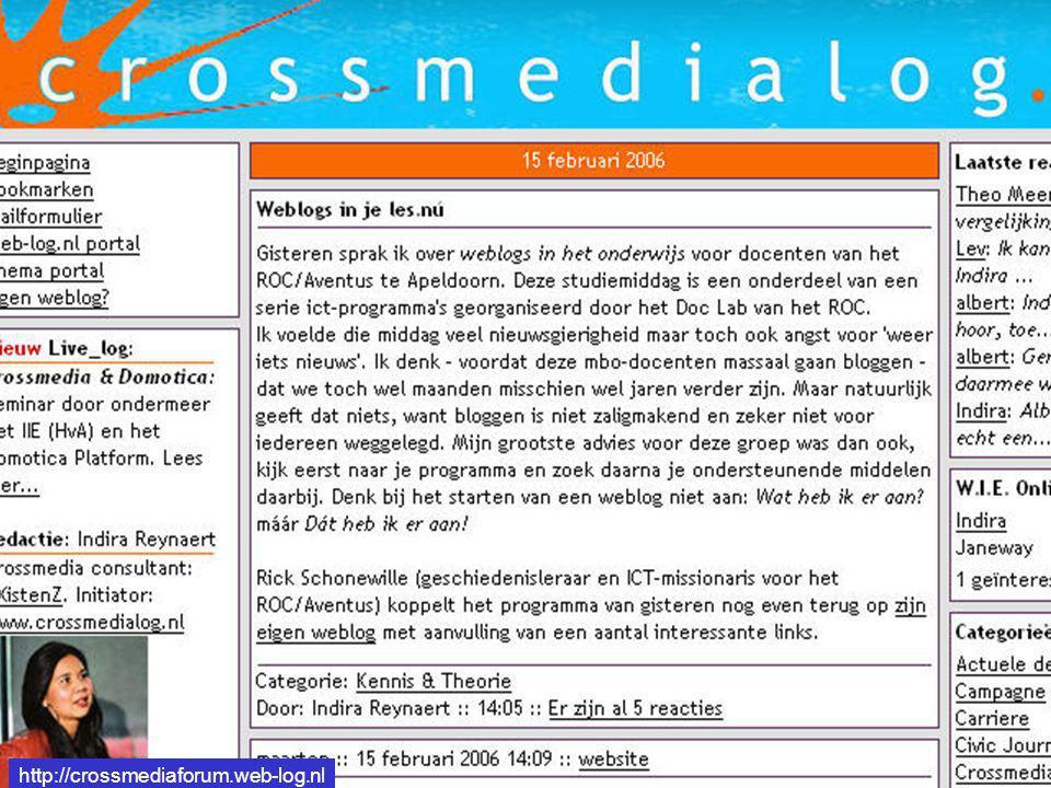 http://crossmediaforum.web-log.nl