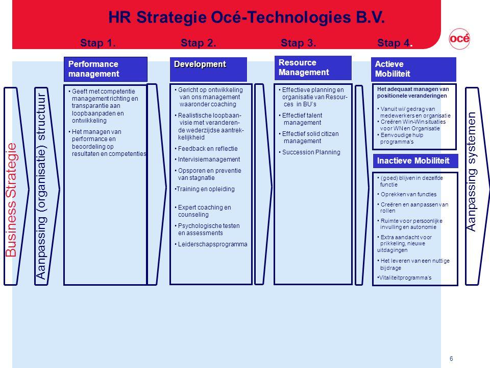 6 HR Strategie Océ-Technologies B.V.