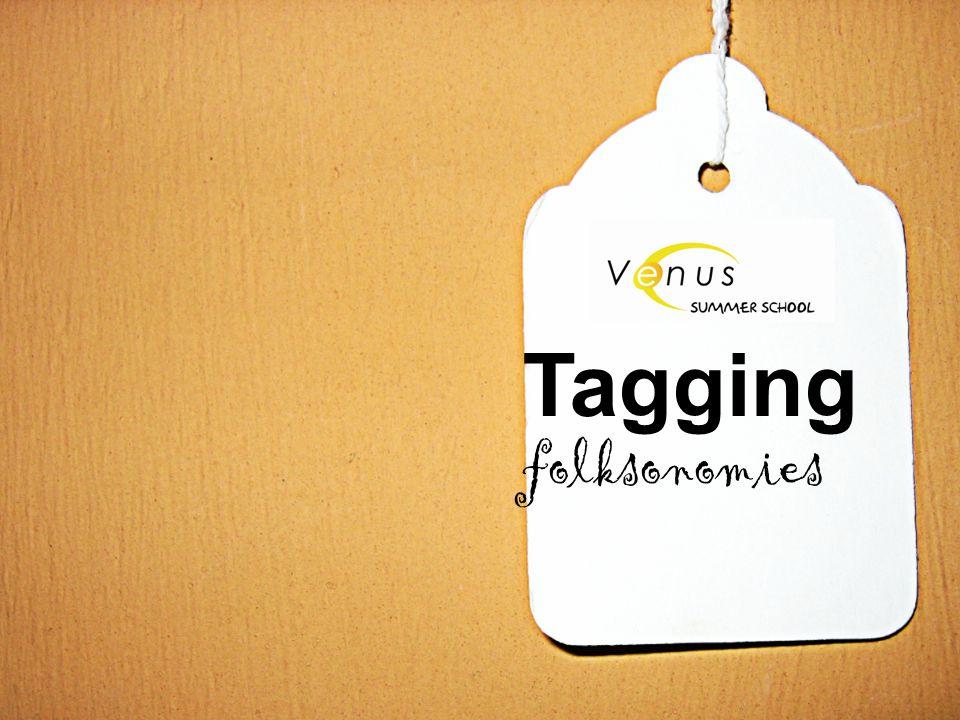 Tagging folksonomies