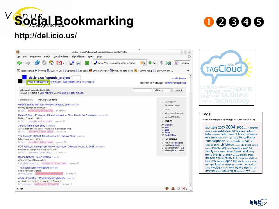 Social Bookmarking  http://del.icio.us/