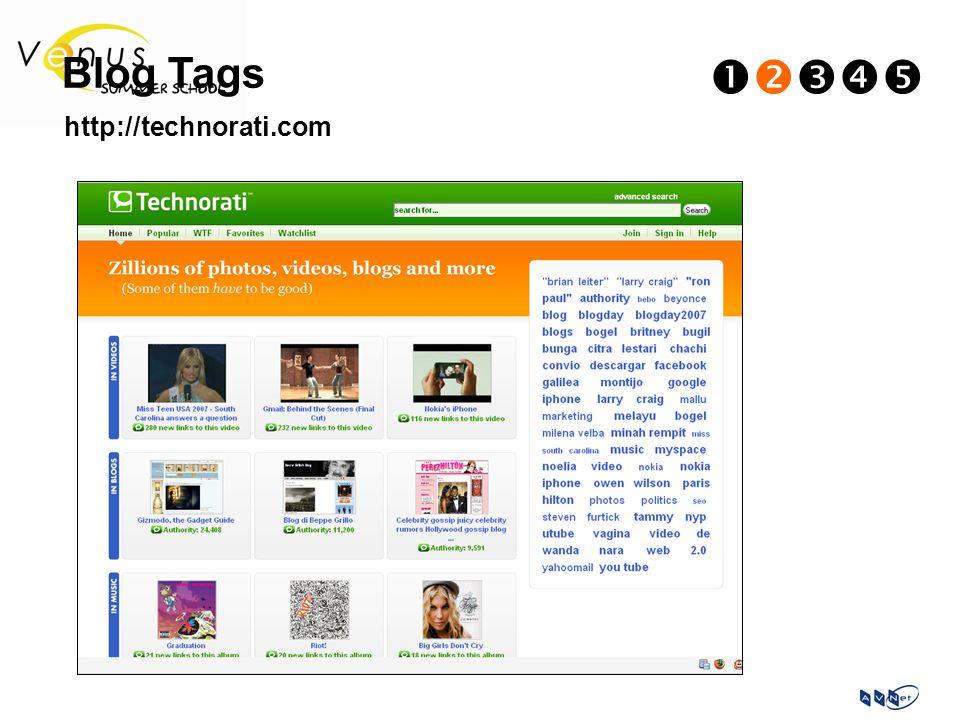 Blog Tags  http://technorati.com