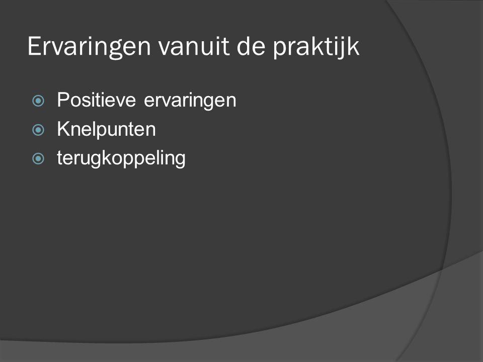 Afronding TOP-TIP-TOP Reacties workshop Afsluiting