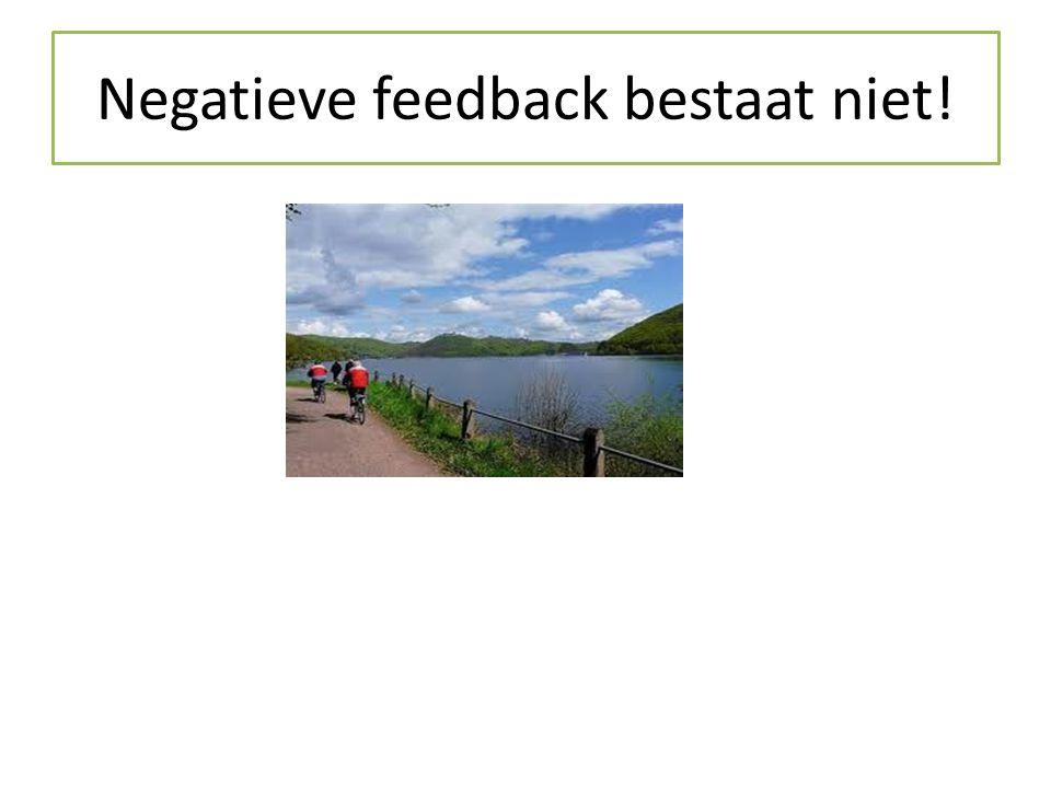 Feedback werkt beter wanneer het onmiddellijk gebeurt en als onderdeel van een continu proces!