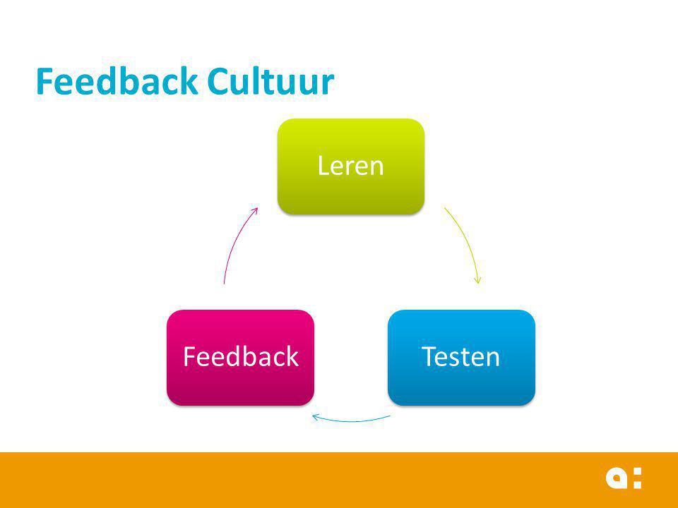 LerenTestenFeedback Feedback Cultuur