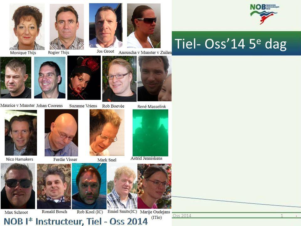 Tiel- Oss'14 5 e dag 11* Instructeur opleiding Tiel & Oss 2014