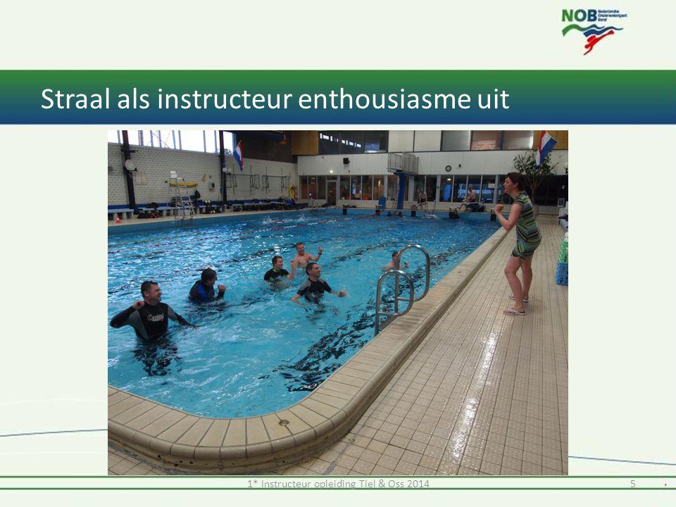 Straal als instructeur enthousiasme uit 1* Instructeur opleiding Tiel & Oss 20145