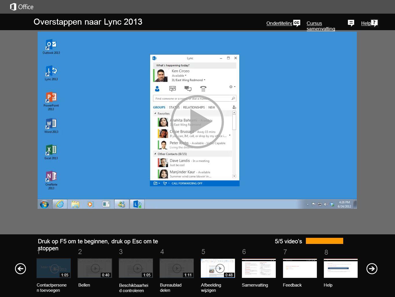 Zie ook Meer cursussen Office Compatibiliteit PakketOfficeCompatibiliteit Pakket Contactpersonen zoeken en toevoegen (1:05) In deze video ziet u vijf manieren waarop u snel uw lijst met contactpersonen kunt maken in Lync 2013.