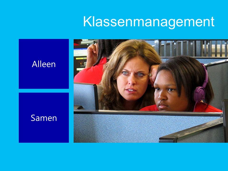 Klassenmanagement Alleen Samen