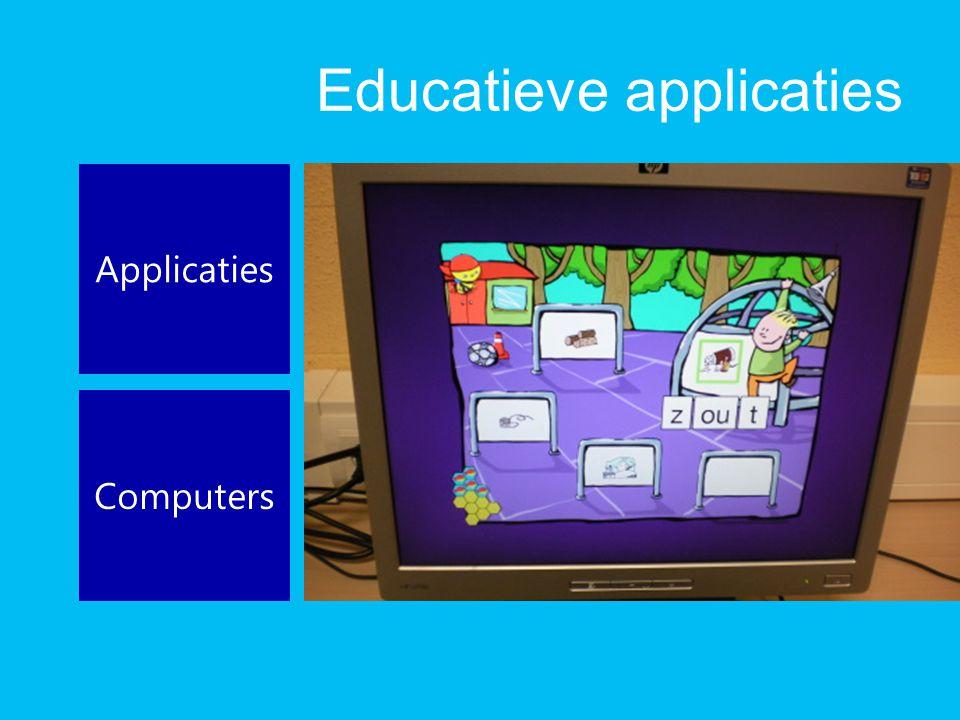 Educatieve applicaties Applicaties Computers
