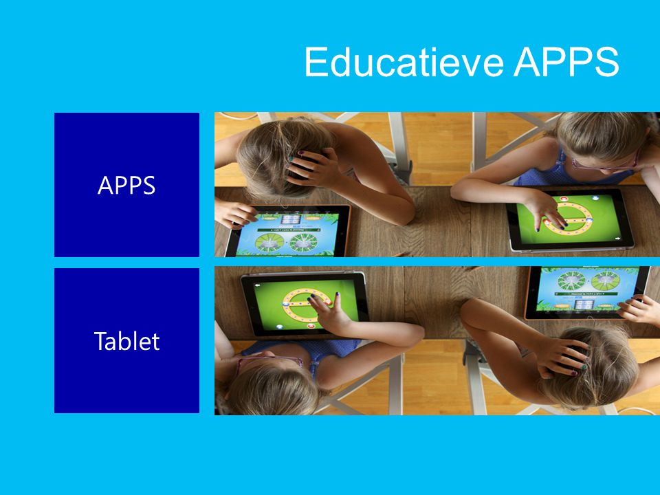 Educatieve APPS APPS Tablet