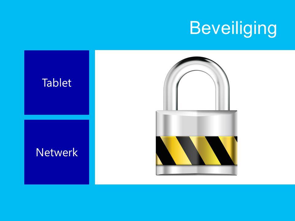 Beveiliging Tablet Netwerk