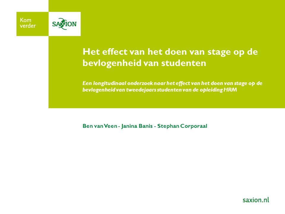 Context In het Nederlandse hoger onderwijs wordt het steeds belangrijker dat studenten binnen de daarvoor vastgestelde termijnen het diploma voor de gekozen opleiding behalen.