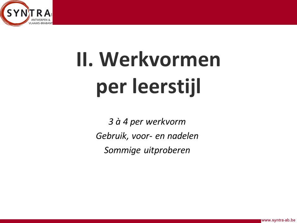 www.syntra-ab.be II.
