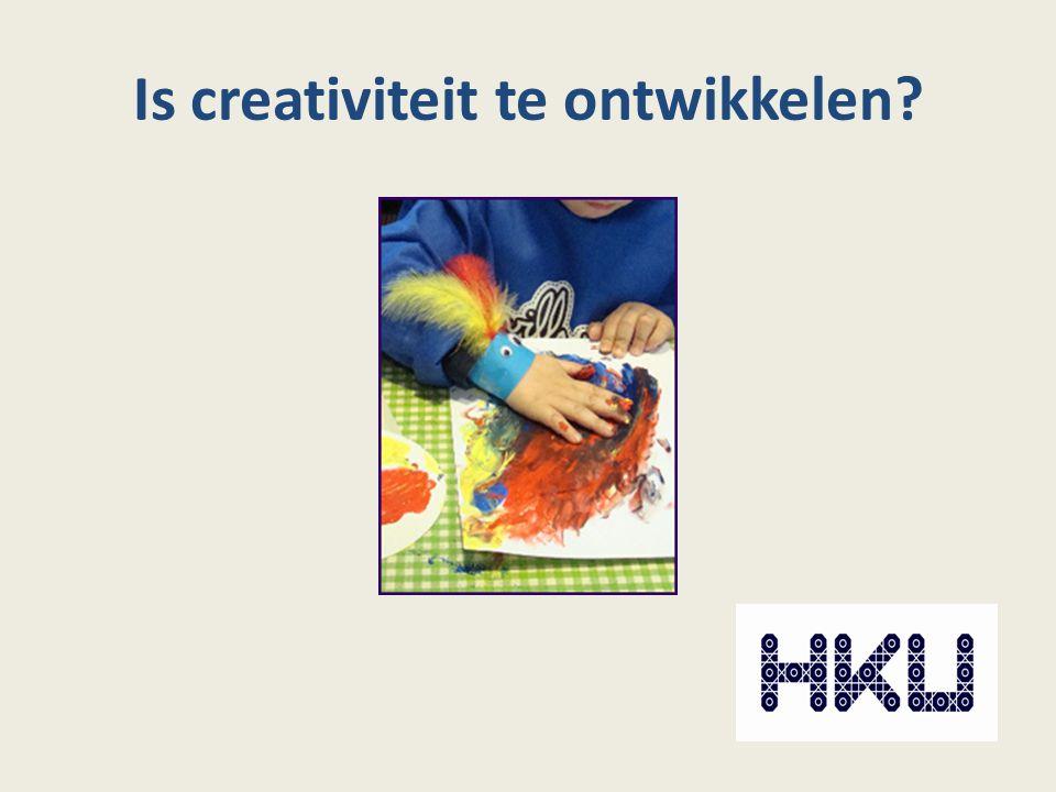Is creativiteit te ontwikkelen?