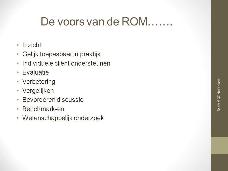De voors van de ROM…….