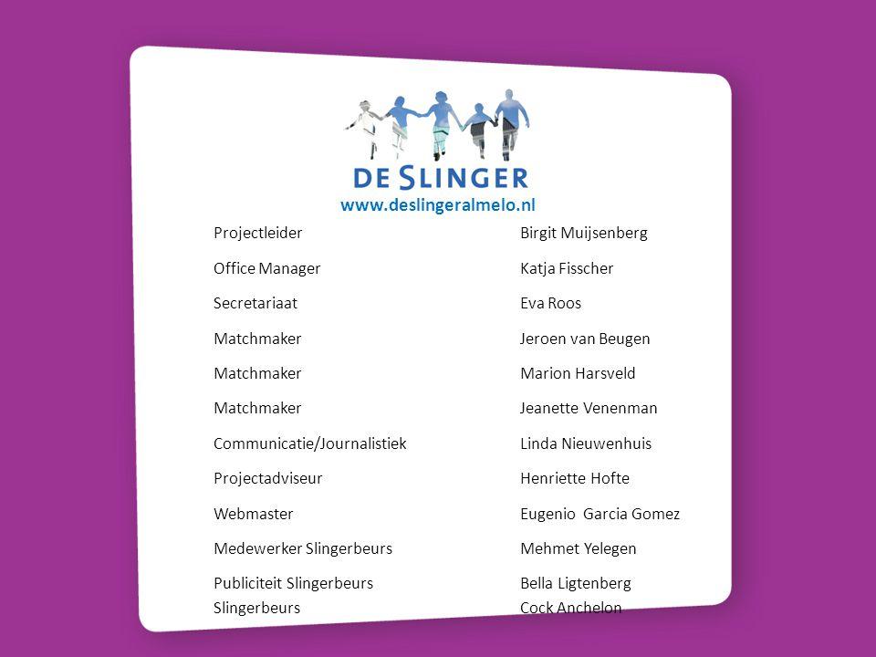 Talenten Slingerteam Aanpassingsvermogen, Accuratesse, Ambitie, Anticiperen, Assertiviteit, Aansturen, Adviseren, analytisch vermogen, Argumenteren, Besluitvaardigheid, Betrokkenheid, Coachen, Collegialiteit, Conflicthantering, Creativiteit, Committment, Computervaardigheid, Delegeren, Doorzettingsvermogen, Durf, Discussiëren, Doorvragen, Draagvlak,Creëren, Energie, Expertise, Empathie, Flexibiliteit, Feedback geven/ontvangen, helikopterview, Initiatief, Integriteit, Inzet, Impact hebben, Klantgerichtheid, Kritisch denken, leervermogen, Loyaliteit, Luisteren, Leidinggeven, Motiveren, Ontwikkelen, Organisatiesensitiviteit, Overtuigingskracht, Organisatietalent, Plannen en organiseren, Presenteren, Probleemanalyse, Samenwerken, Sensitiviteit, Stressbestendheid, Voortangsbewaking, Vasthoudendheid, Verantwoordelijk, Verbinden, Visie, Zelfstandig.