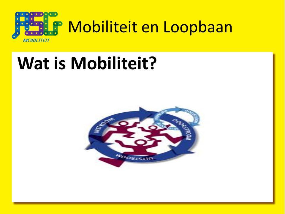 Mobiliteit en Loopbaan Wat is Mobiliteit?