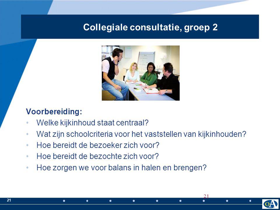 21 Voorbereiding: Welke kijkinhoud staat centraal? Wat zijn schoolcriteria voor het vaststellen van kijkinhouden? Hoe bereidt de bezoeker zich voor? H