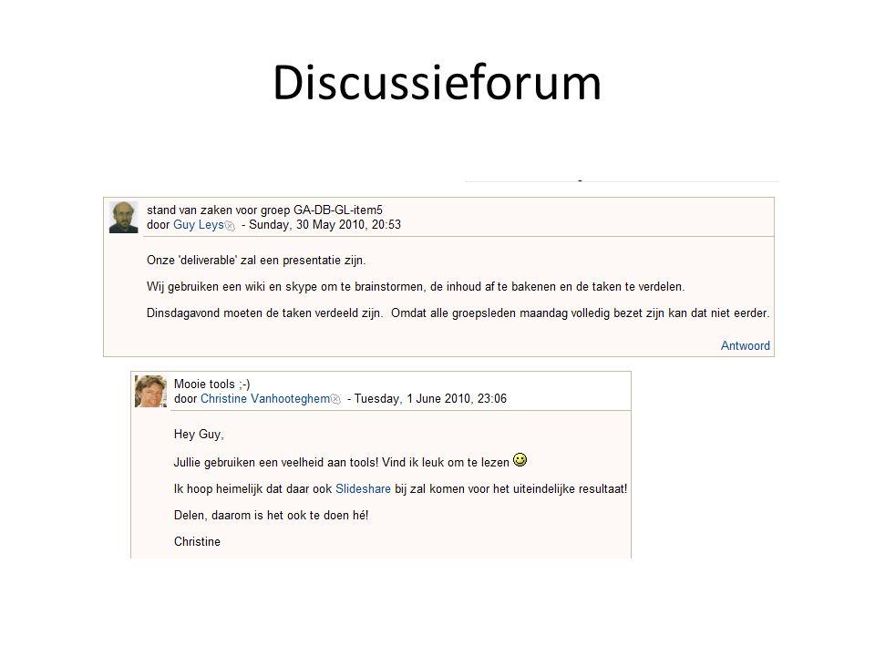 Discussieforum